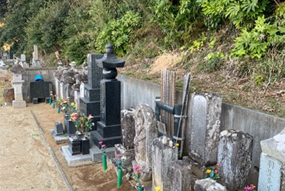 羽生家墳墓(一乗寺内)